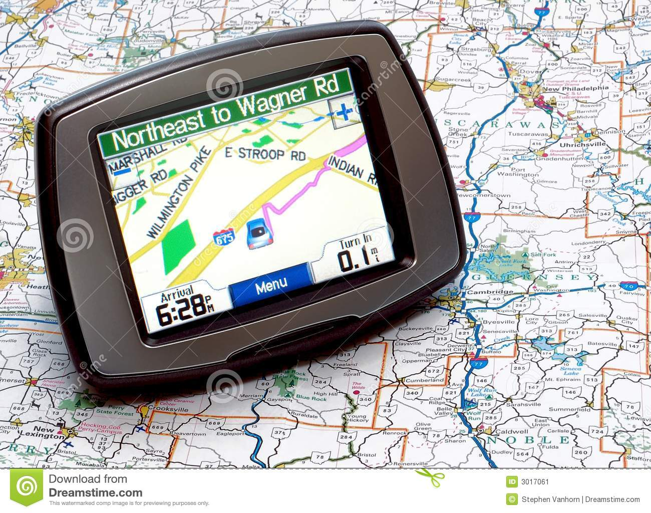 GPS or Map