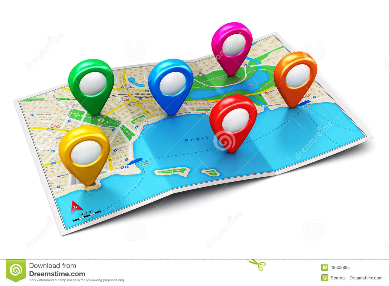 Location Position Icon Free Vector Graphic On Pixabay: GPS Navigation Concept Stock Illustration