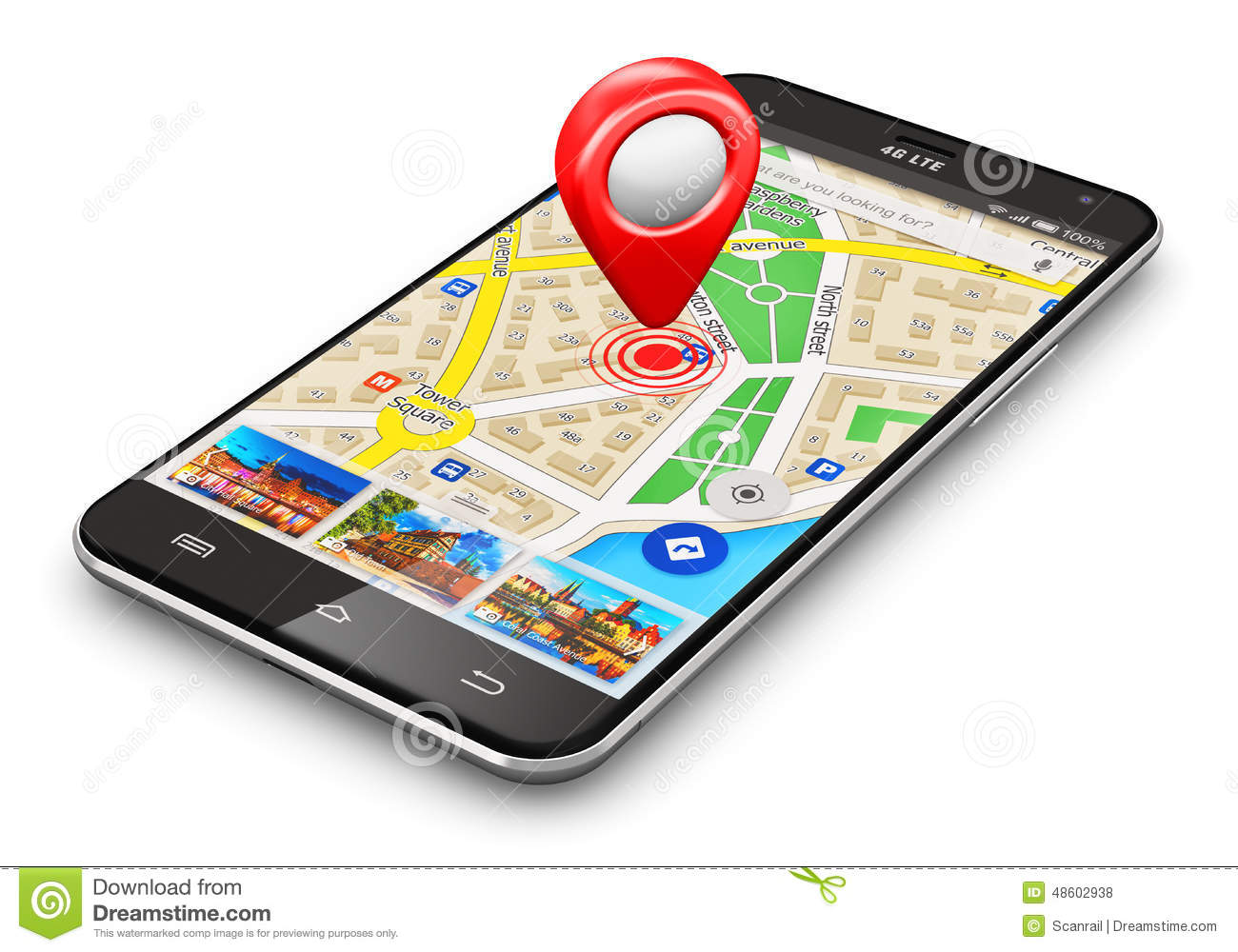 how to know location of mobile phone