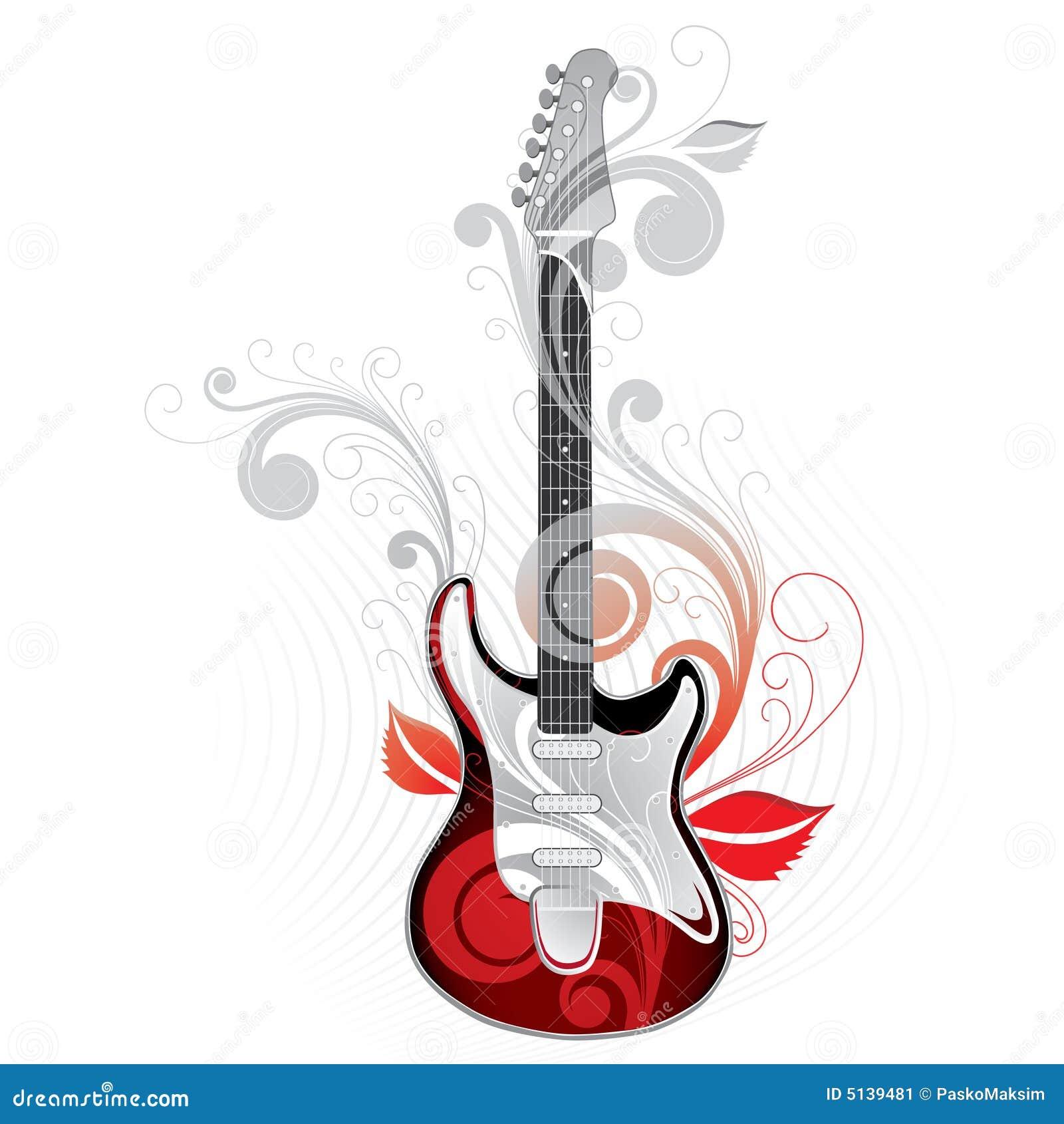 Gráfico da guitarra