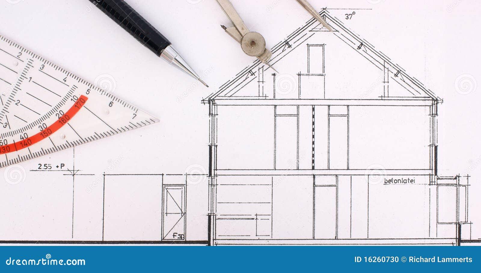 Gráfico de construcción de una casa