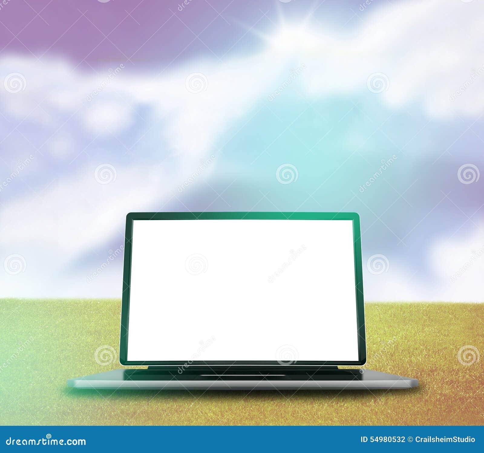 Gráfico de laptop