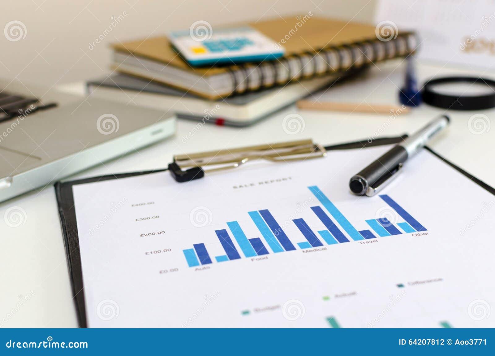 Gráfico de los documentos de negocio