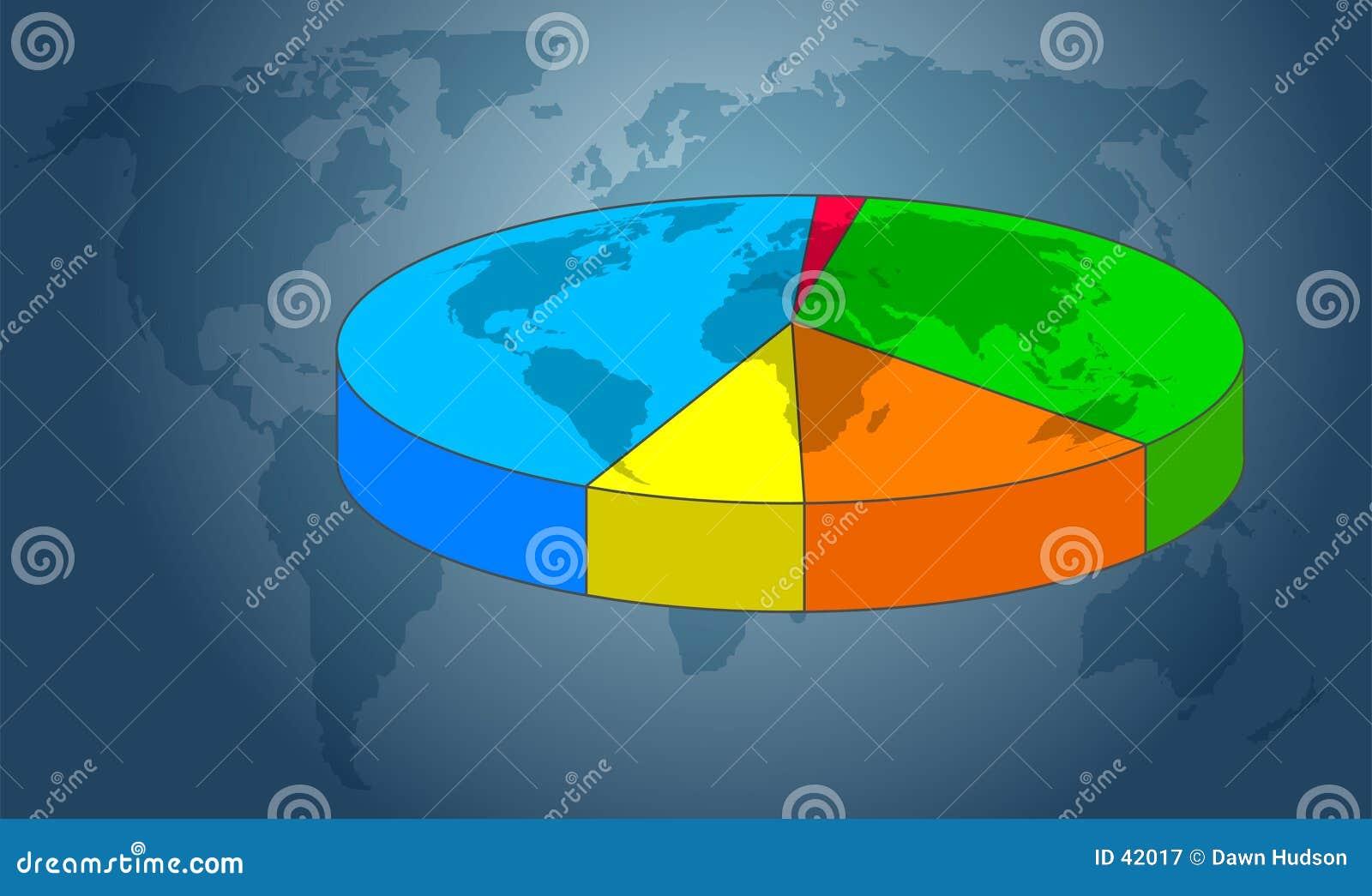 Download Gráfico de sectores stock de ilustración. Ilustración de correspondencias - 42017