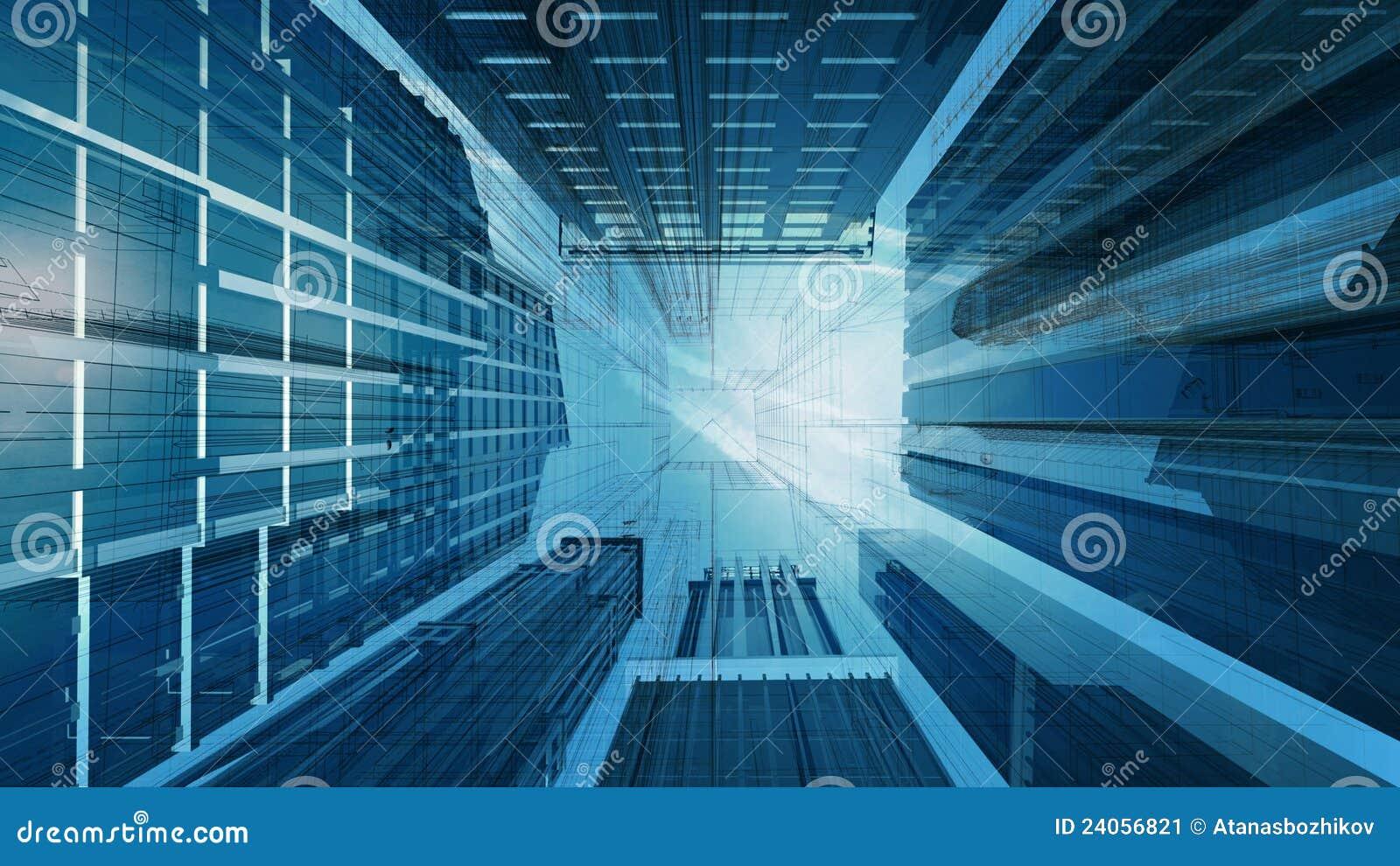 Gráfico de Technival del edificio corporativo