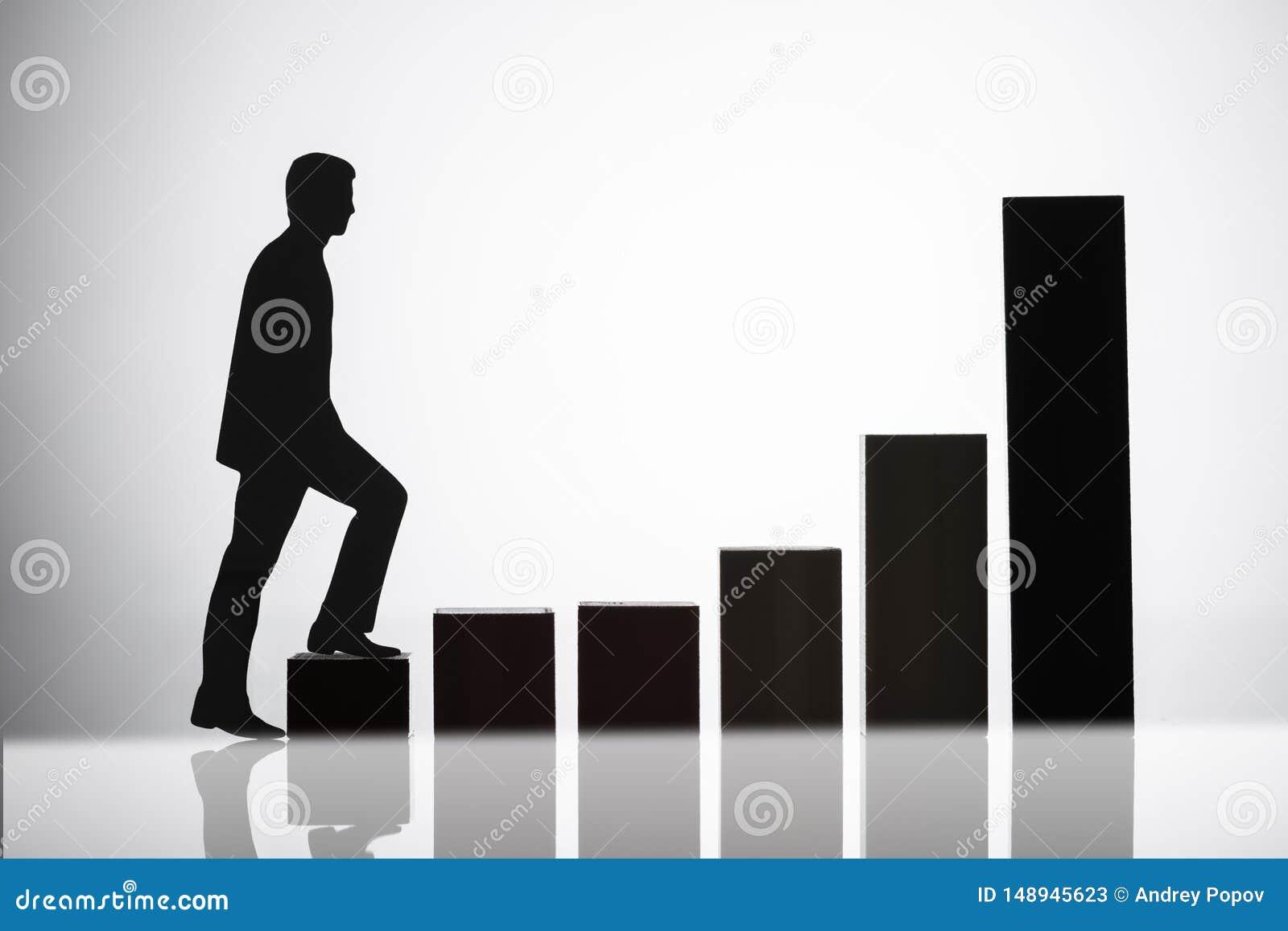 Gr?fico de Walking On Growing del empresario