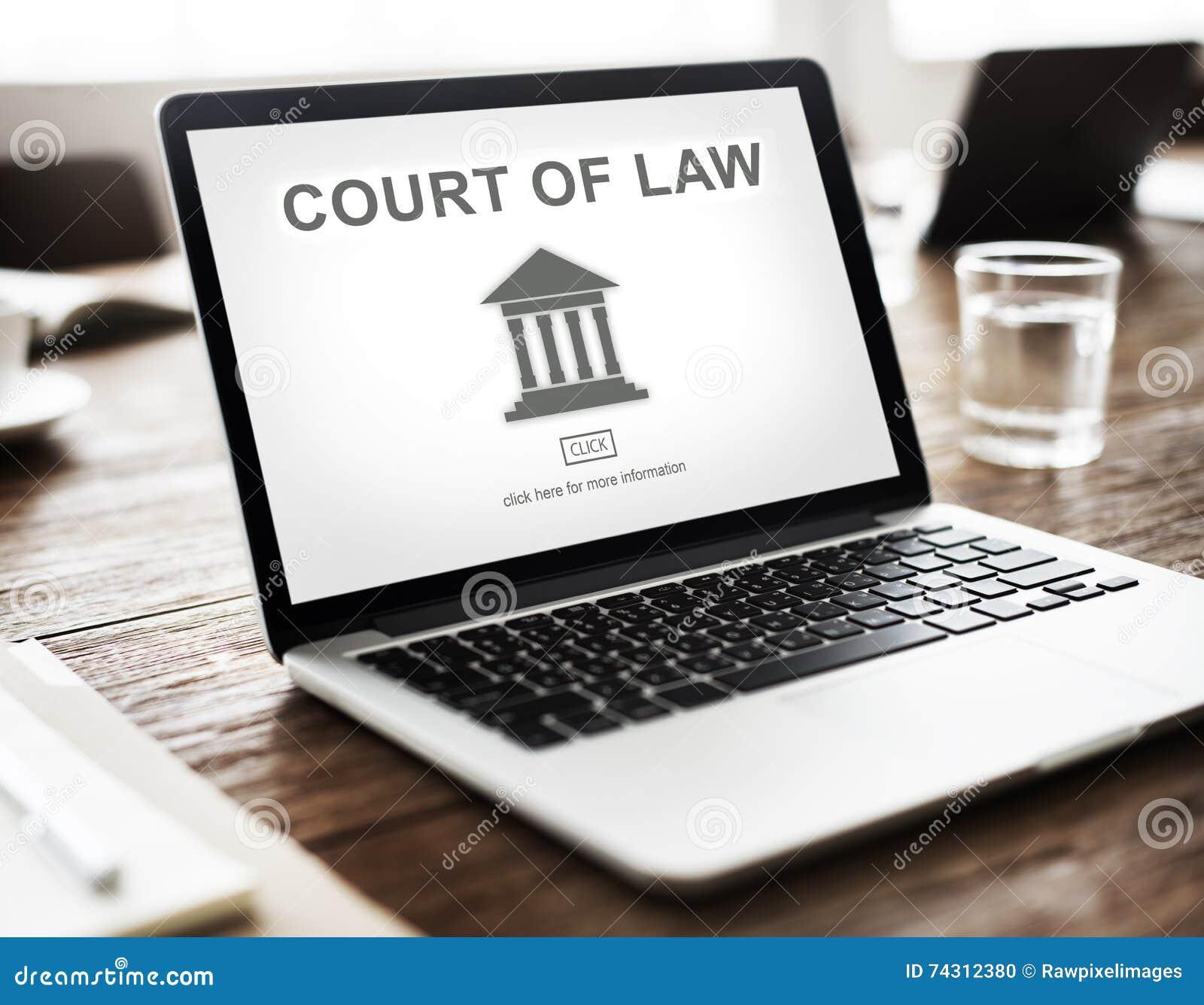 Gráfico del pilar de la ley de la autoridad gubernamental