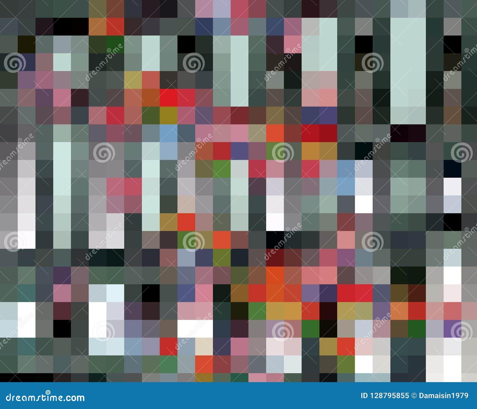 Gráficos anaranjado oscuro abstractos, geometrías, fondo y textura de las casillas blancas