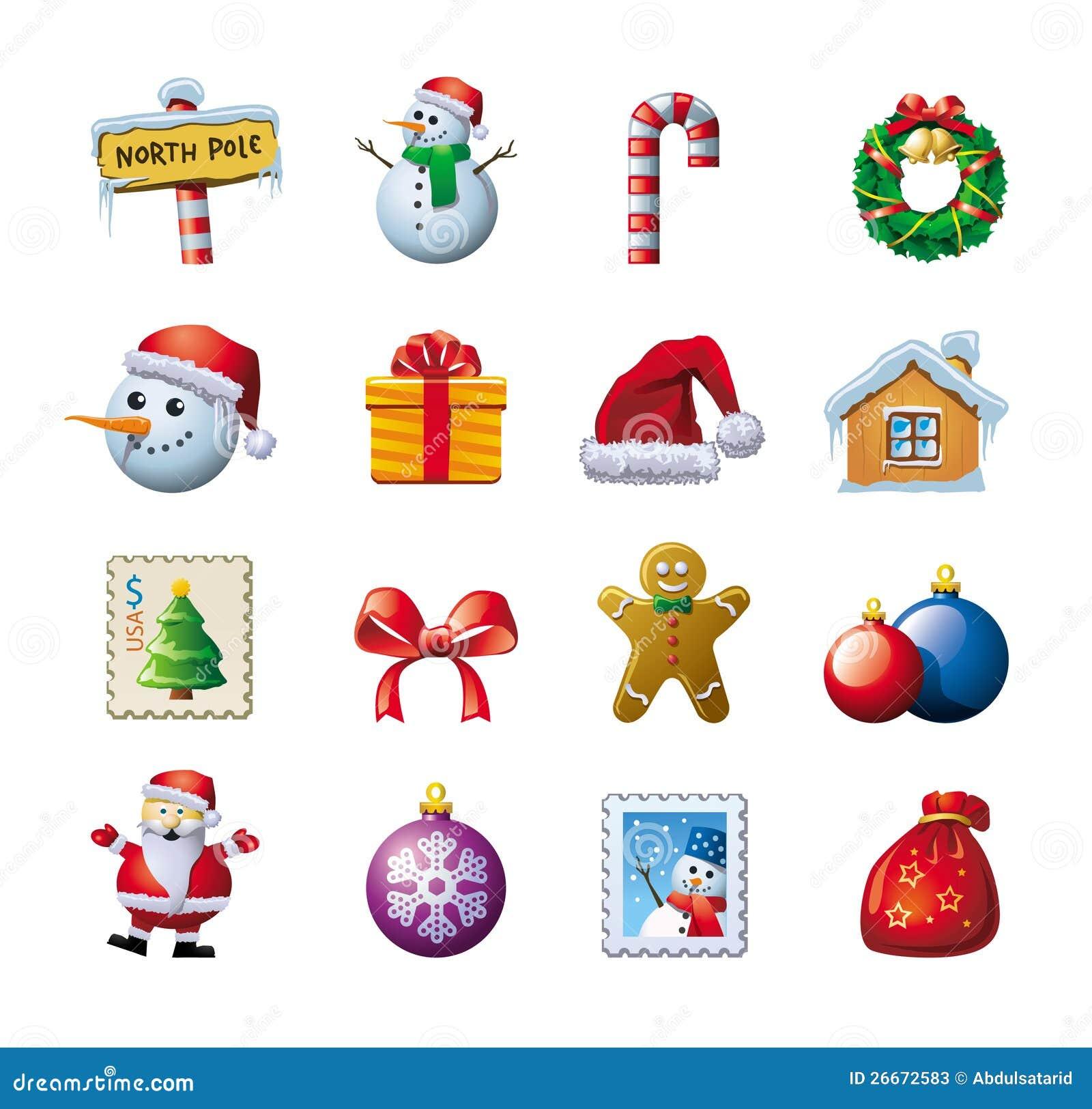 Gráficos coloridos de la Navidad