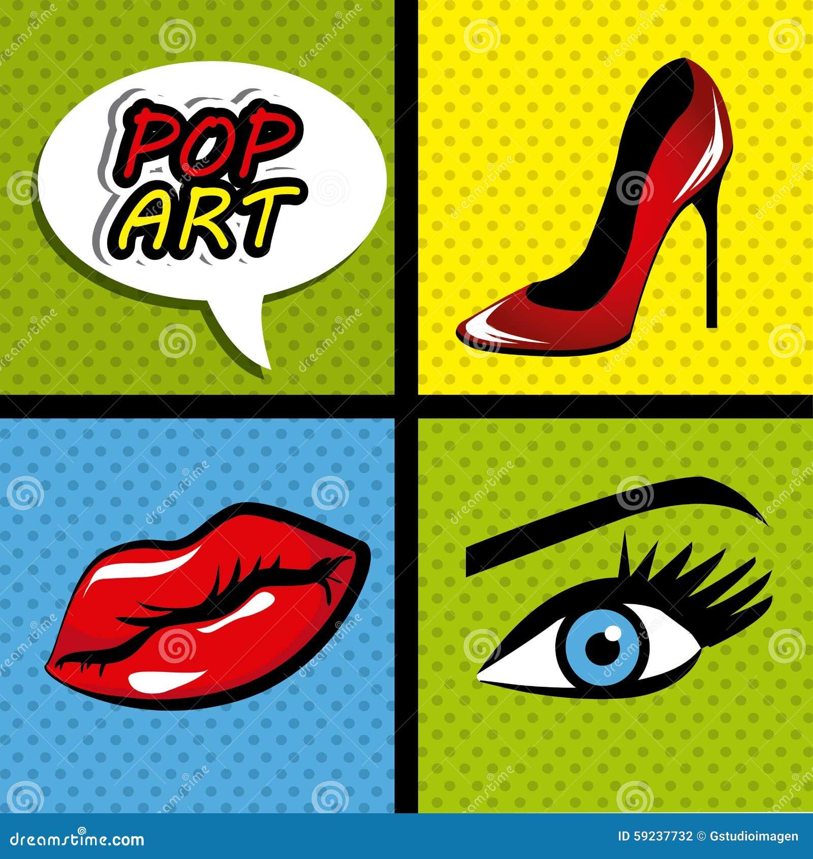 Download Gráficos De La Historieta Del Arte Pop Stock de ilustración - Ilustración de talón, hospitalidad: 59237732