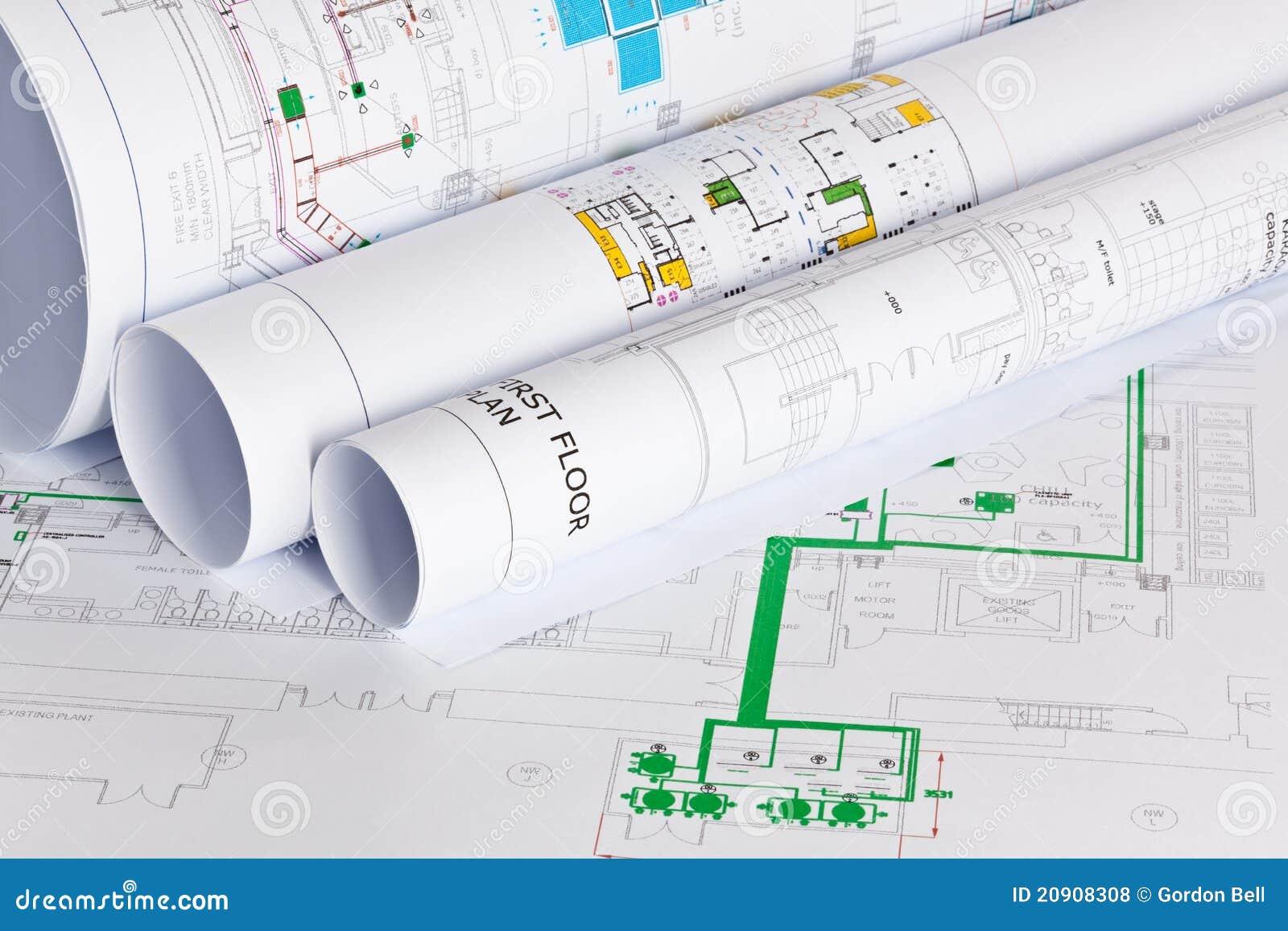 Gráficos de los arquitectos