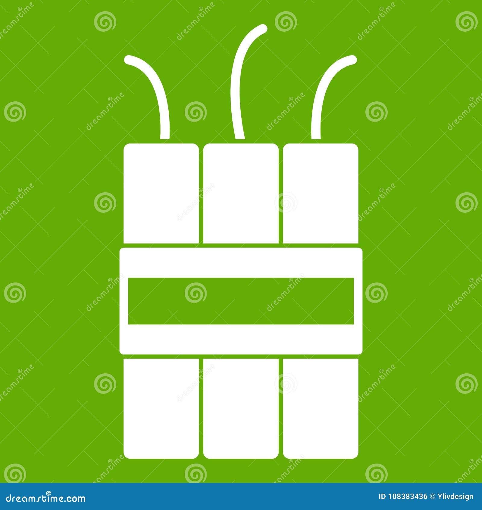 Gräsplan för dynamitsprängmedelsymbol
