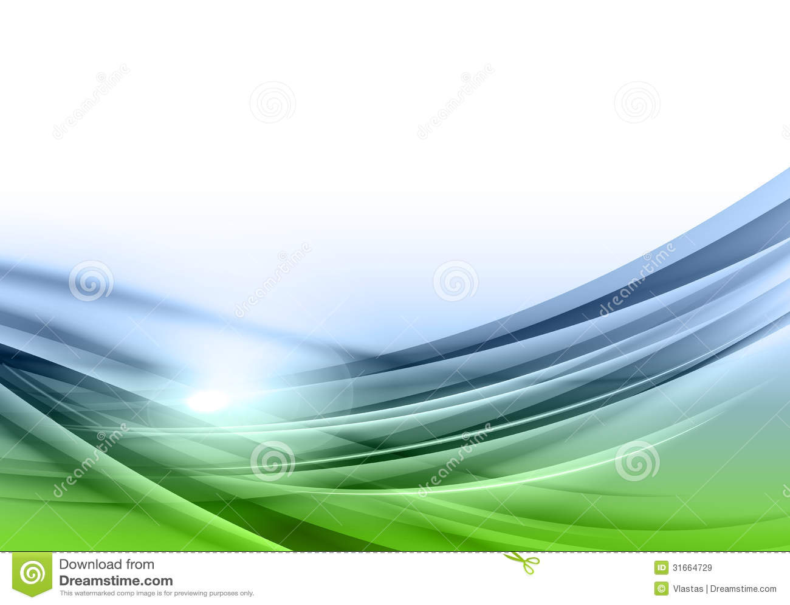 Gräsplan- och blåttabstrakt begrepp