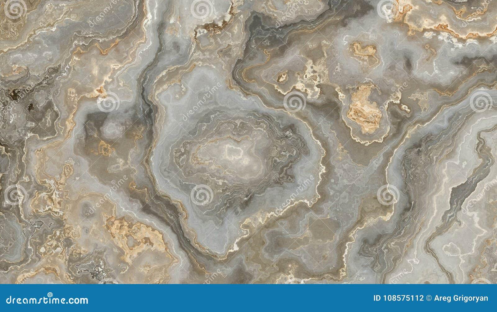 Grå lockig marmor