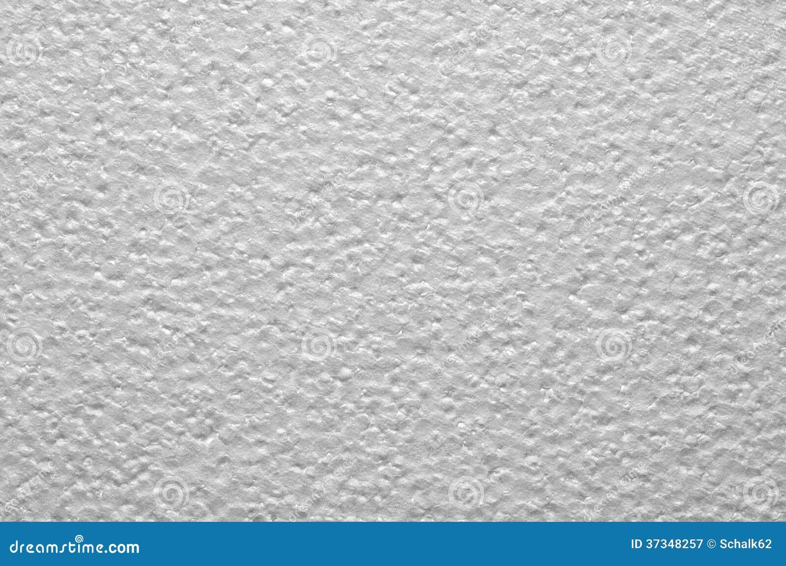 Grå polystyrenplatta