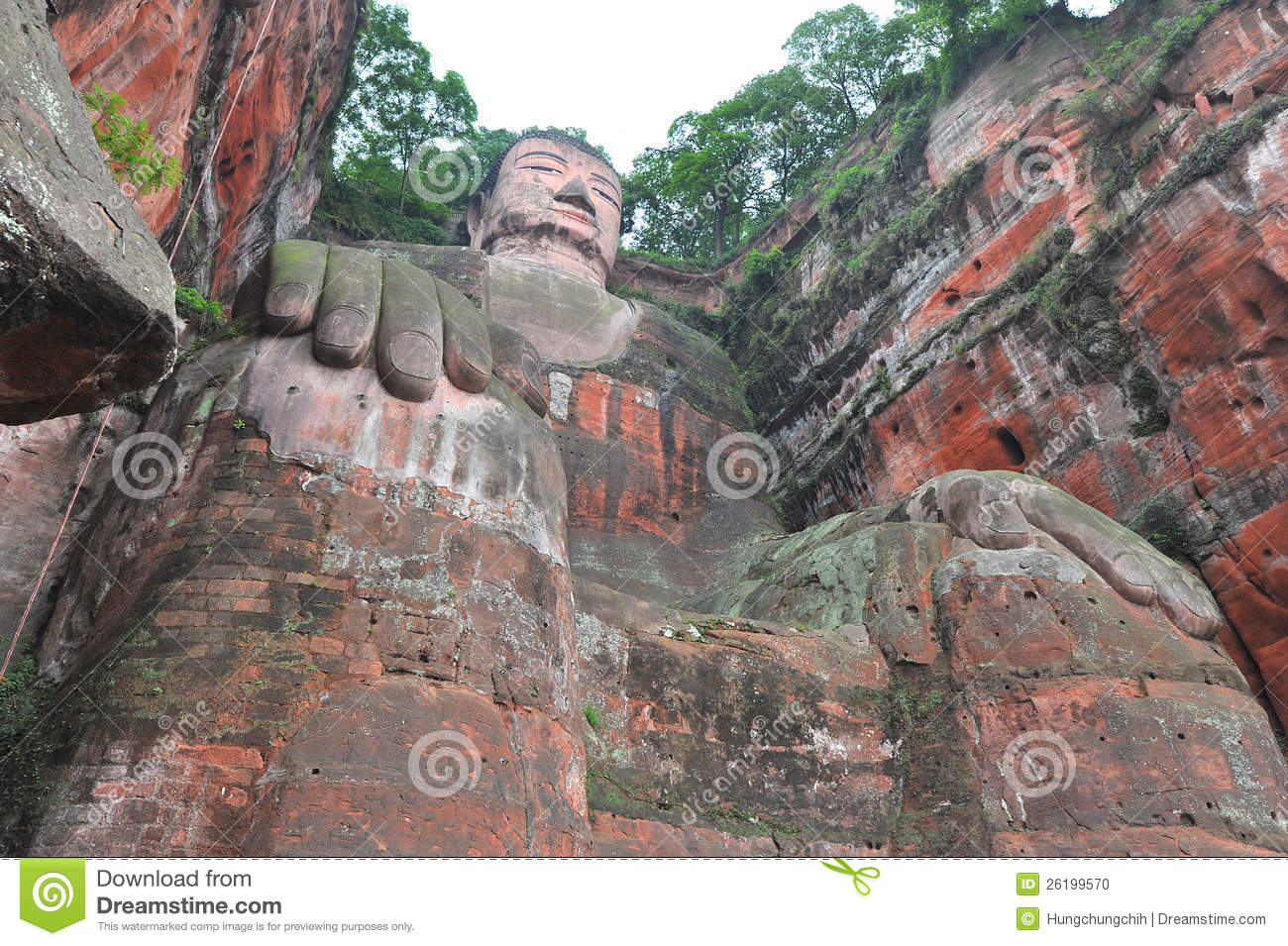 gr te buddha statue in der welt in leshan stockfoto bild 26199570. Black Bedroom Furniture Sets. Home Design Ideas