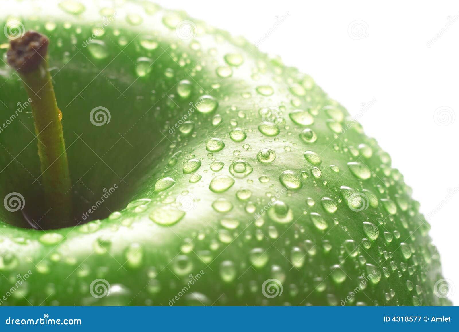 Grön äpplemakro