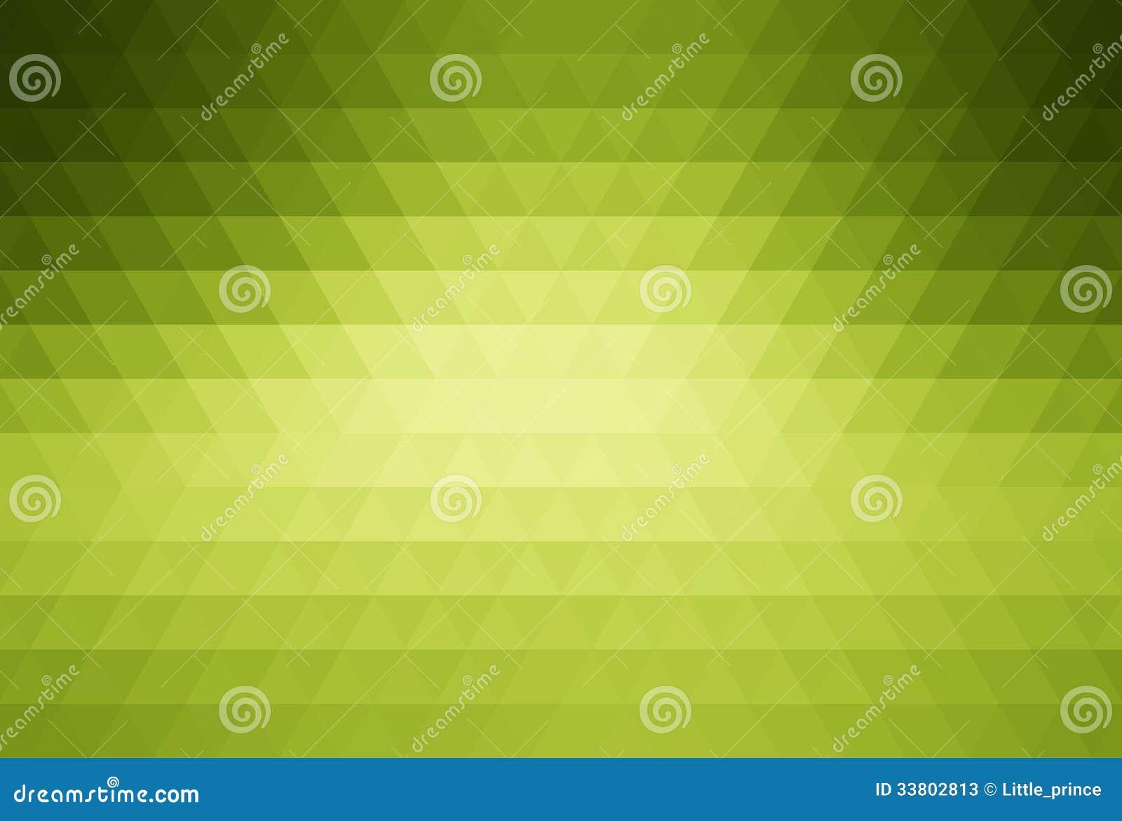 Grön abstrakt mosaikbakgrund