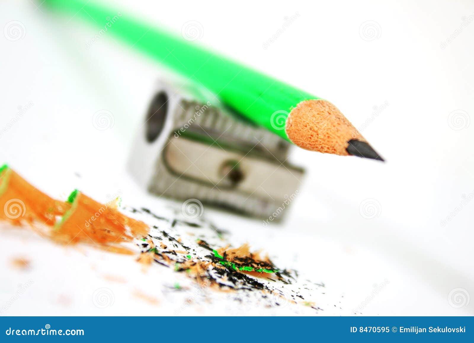Grön blyertspenna