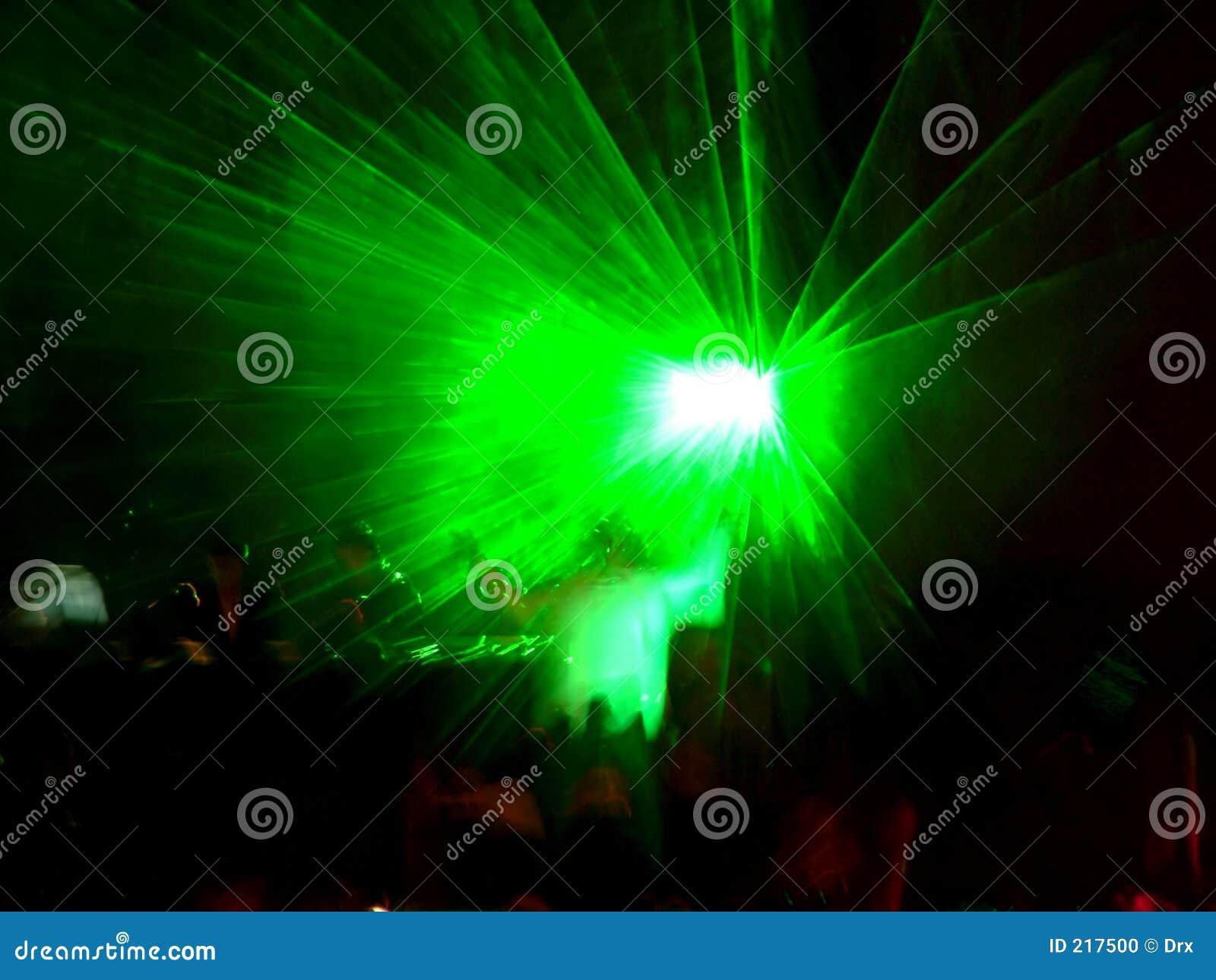 Grön etapp för laser 2