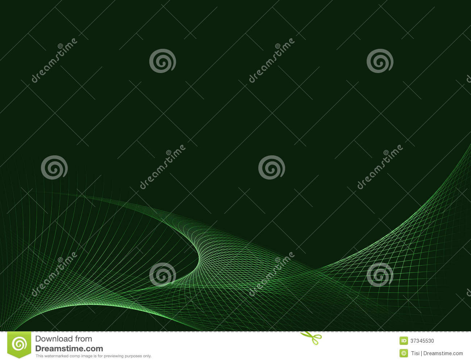 Grön glödande bakgrund