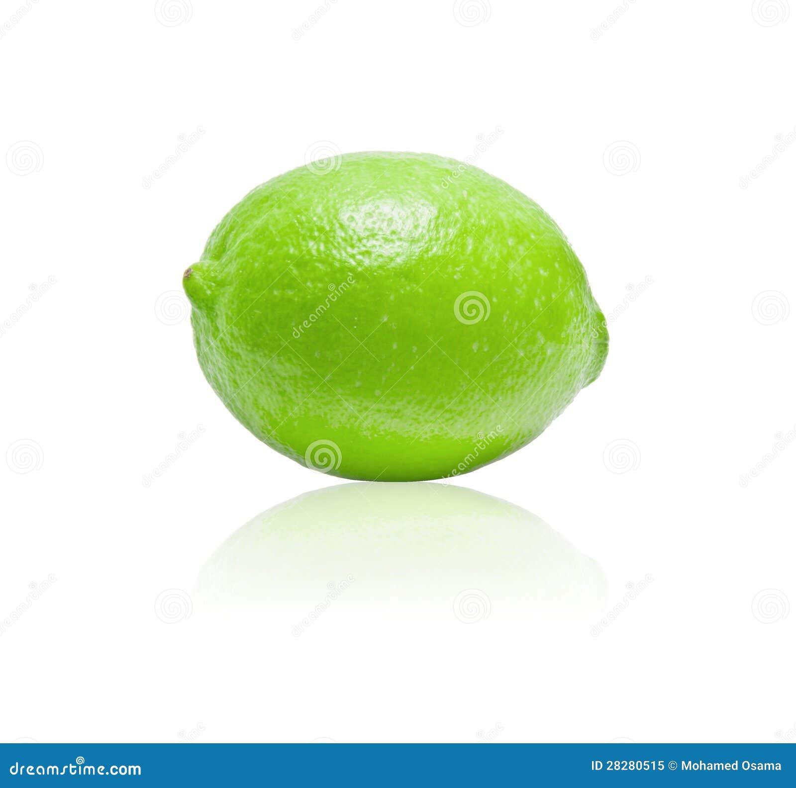 Grön limefrukt