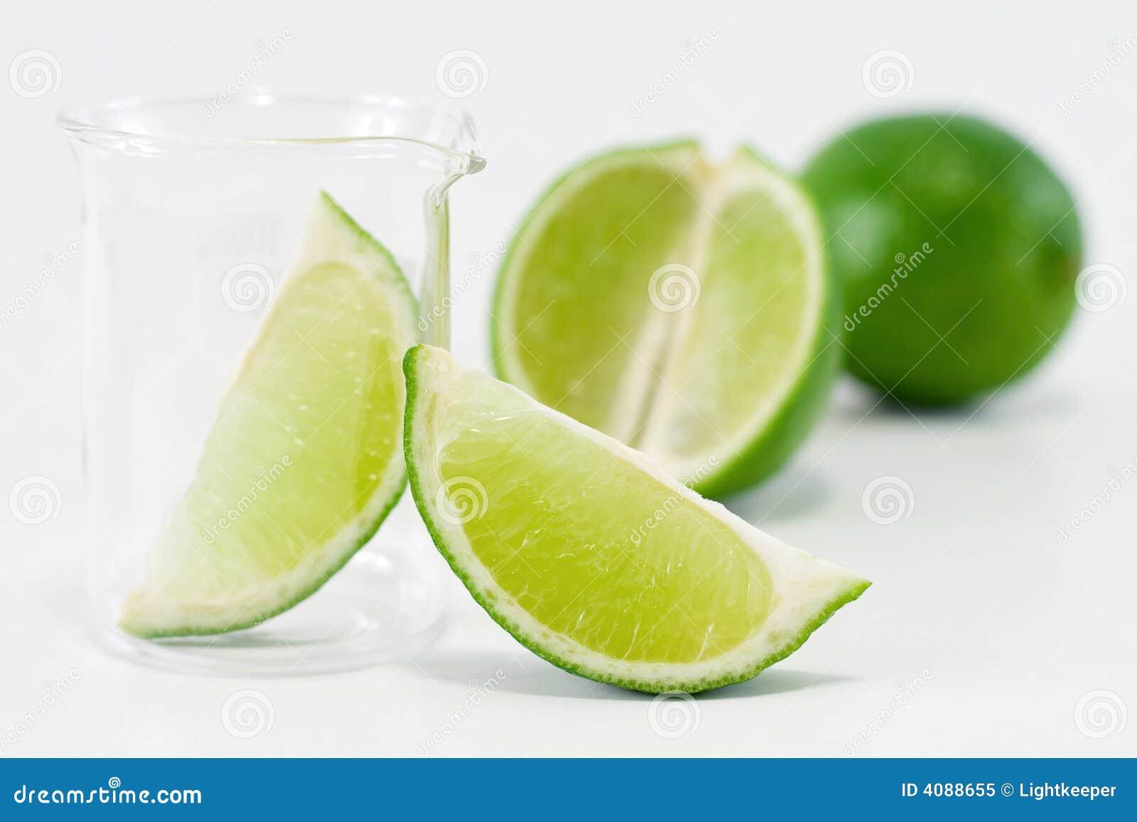 Grön limefruktaktivering