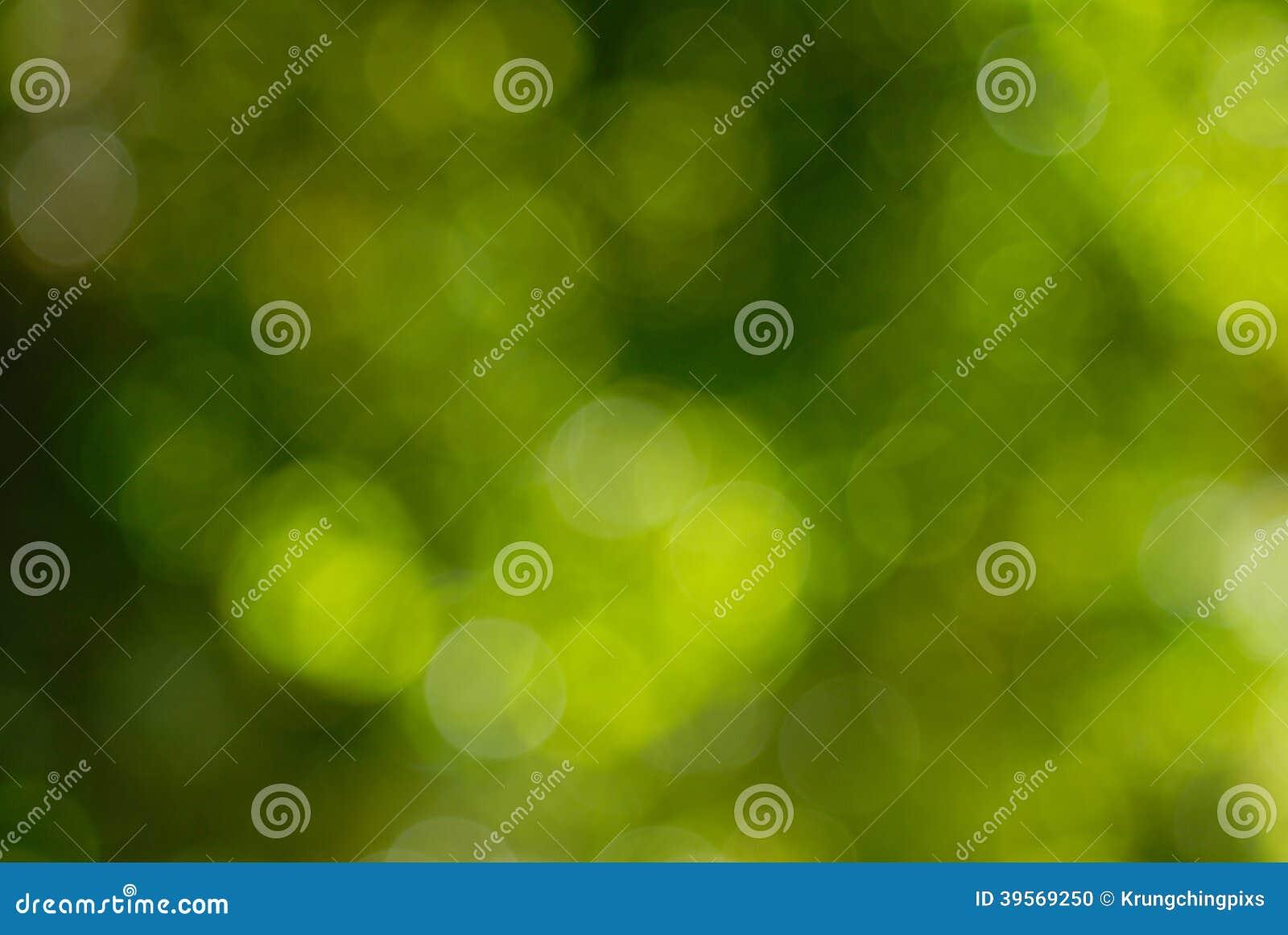 Grön naturlig bakgrund