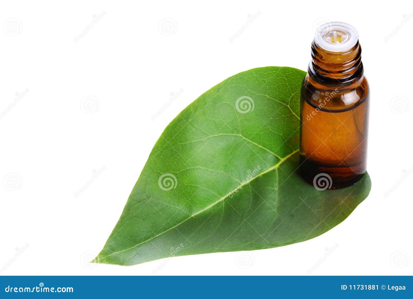 Grön organisk leafolja