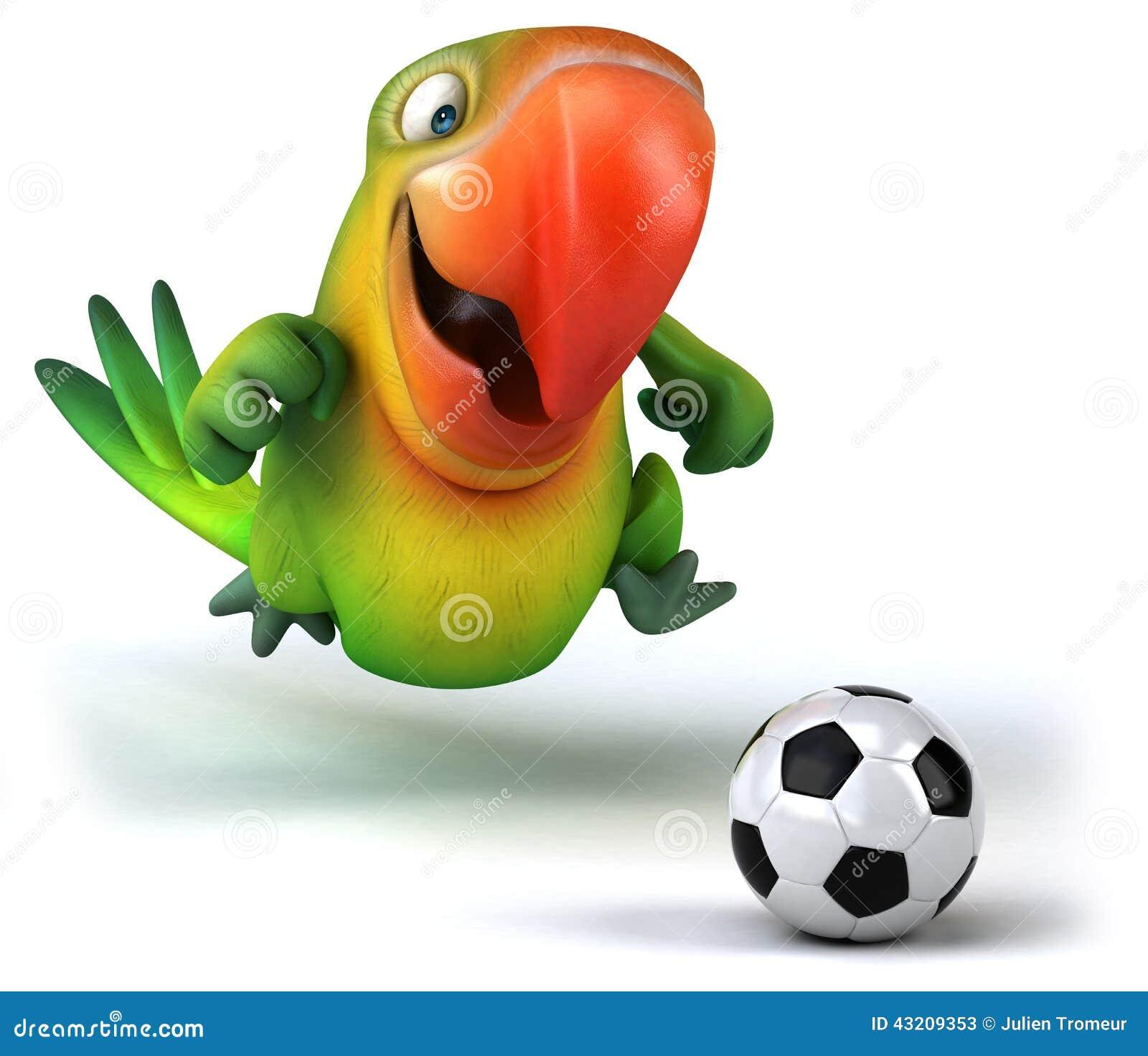 Download Grön papegoja stock illustrationer. Illustration av brigham - 43209353
