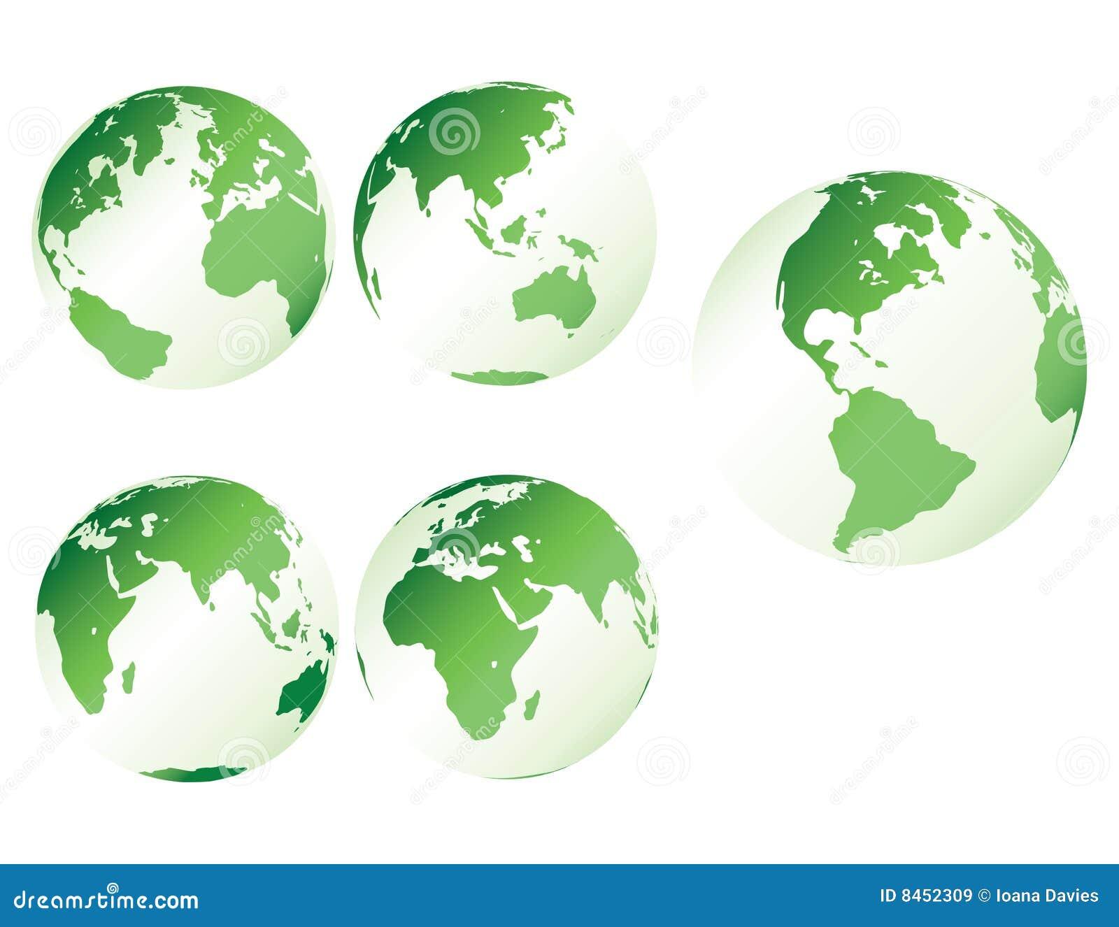 Grön plast- för jord