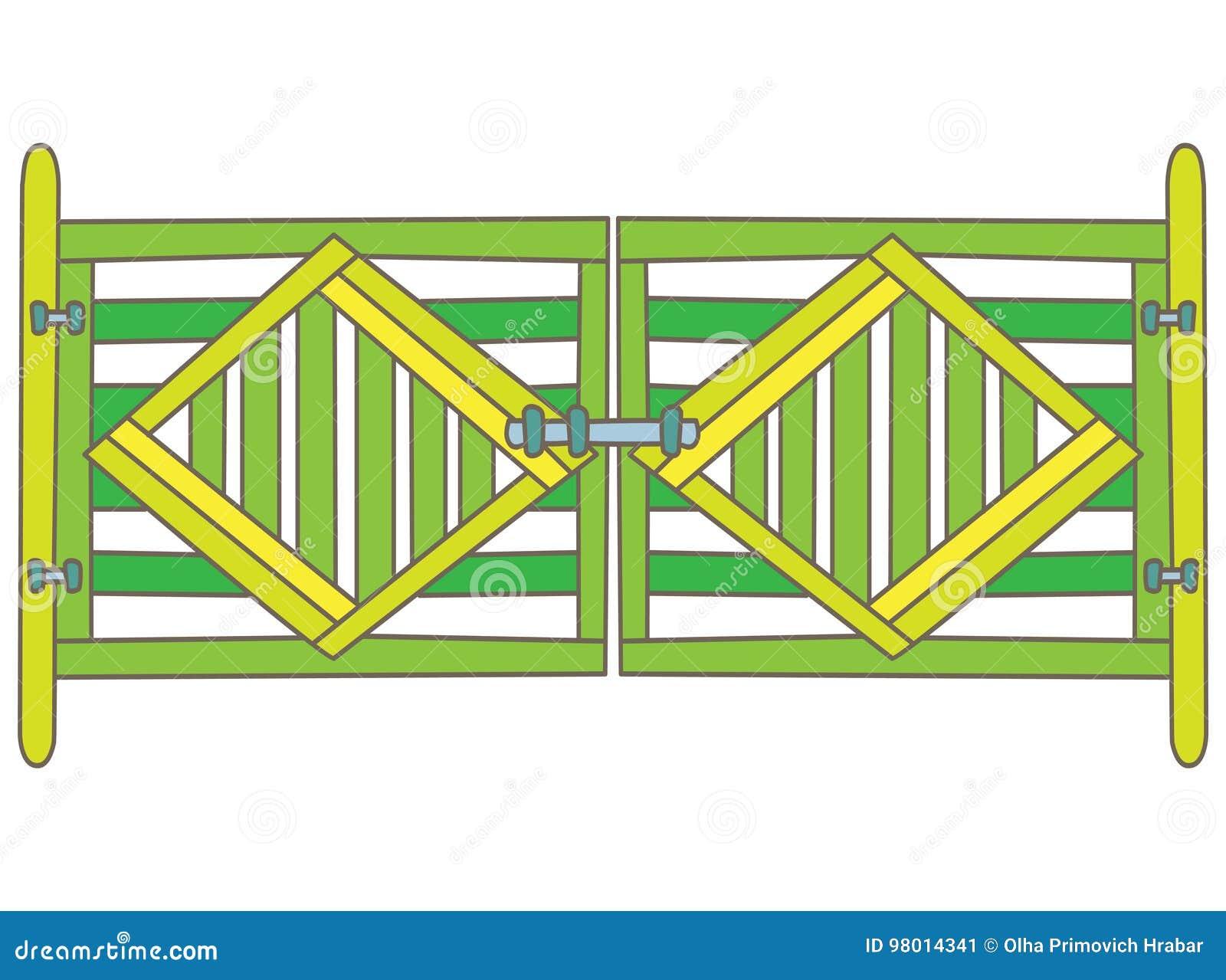 Grön port