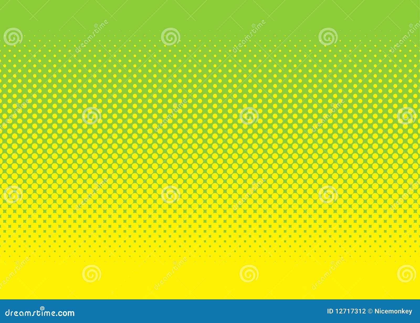Grön rastrerad modellyellow