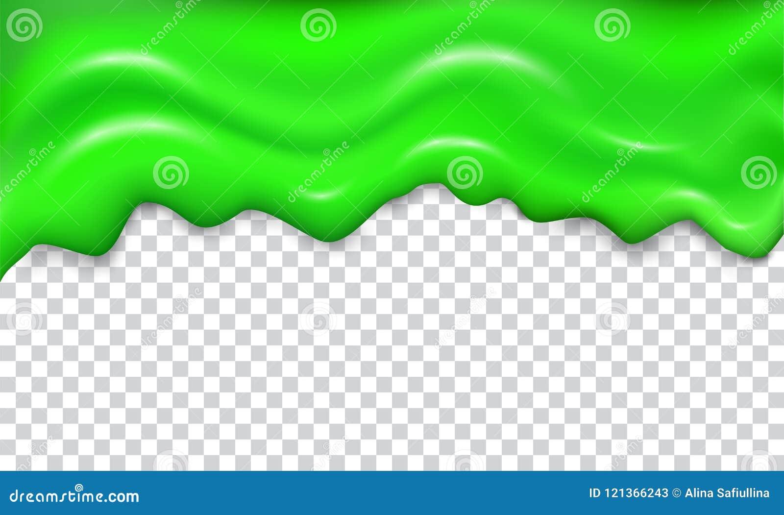 Grön sömlös genomblöt slam