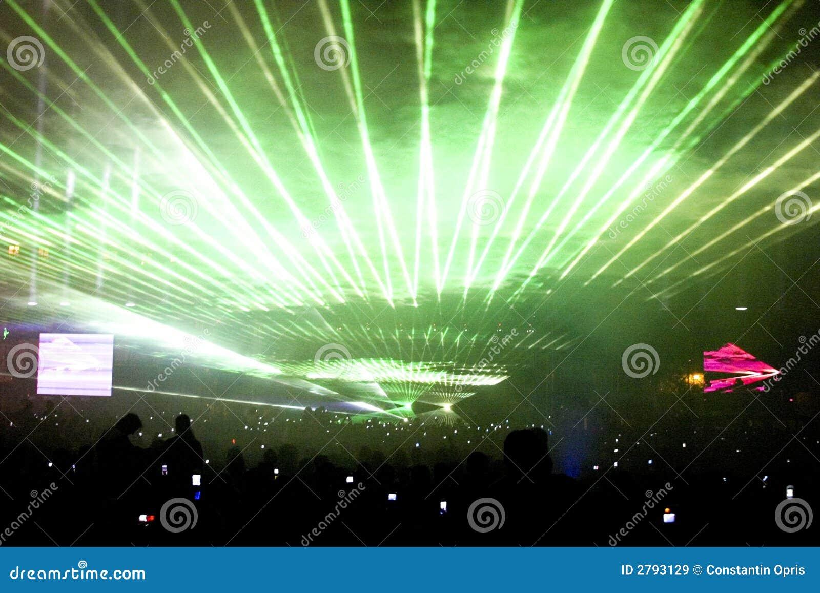 laser lampa utomhus