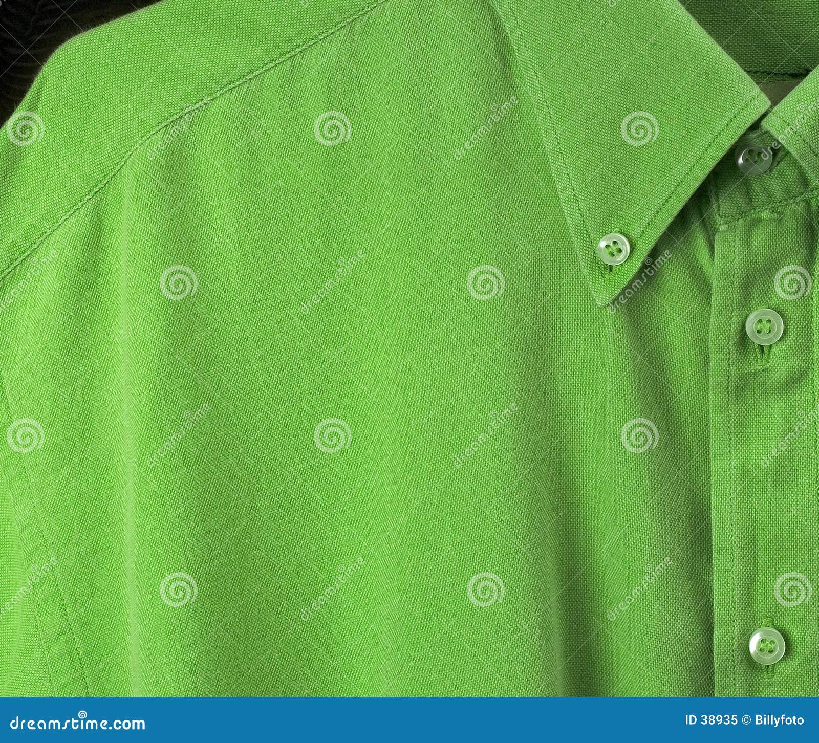 Grön skjorta