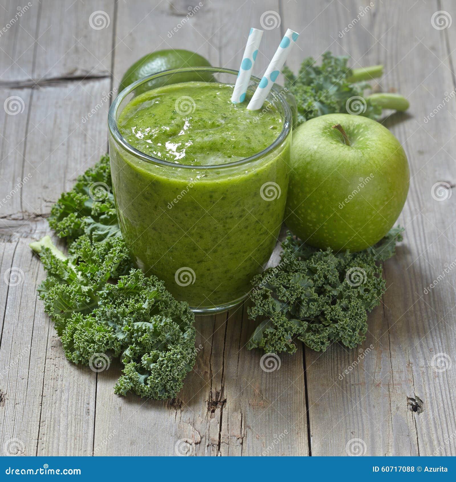 grön smoothie grönkål