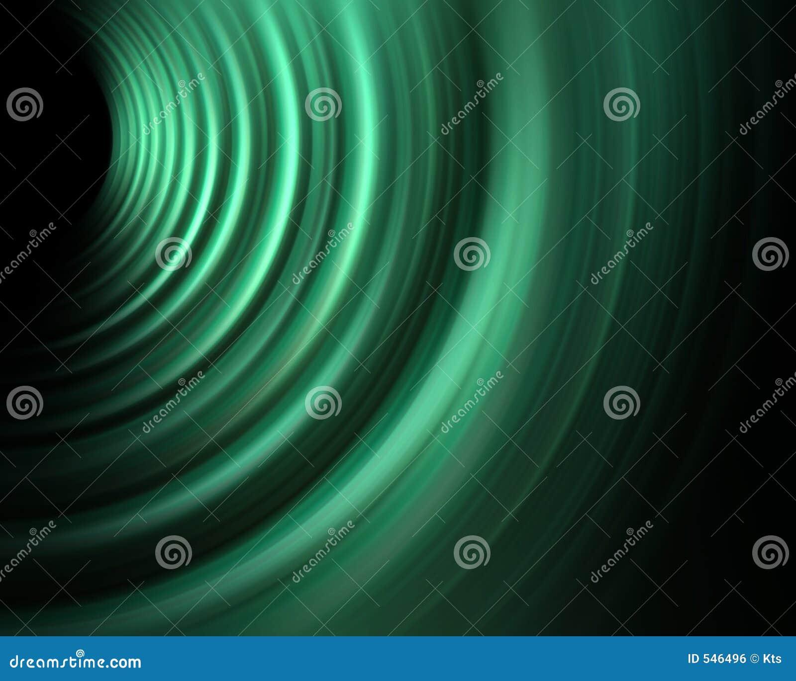 Grön sound wave för energi
