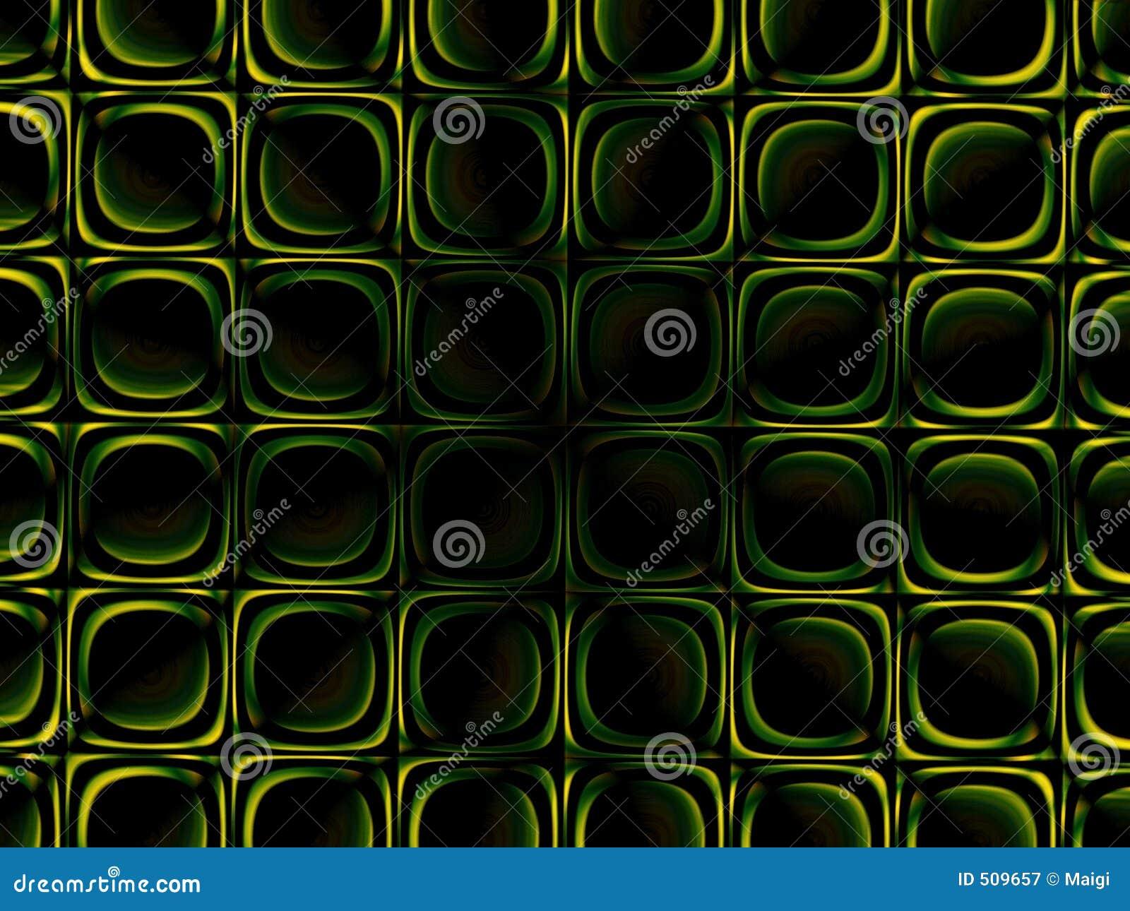 Grön symmetri för bakgrund