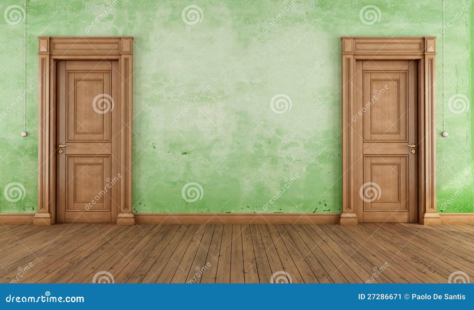 Grön tom tappninglokal