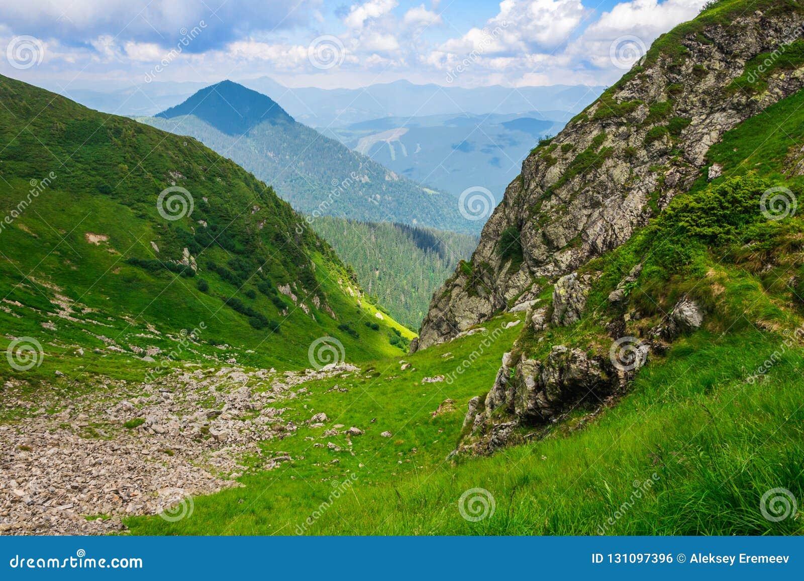 Gröna berg av Ukraina, Carpathians