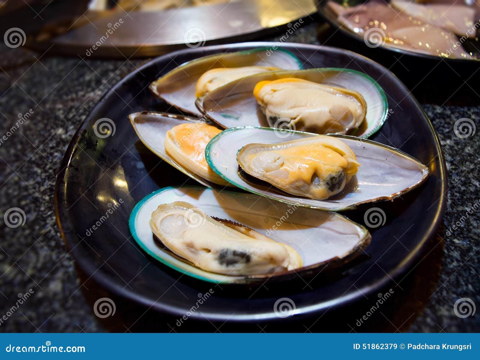 Gröna musslor