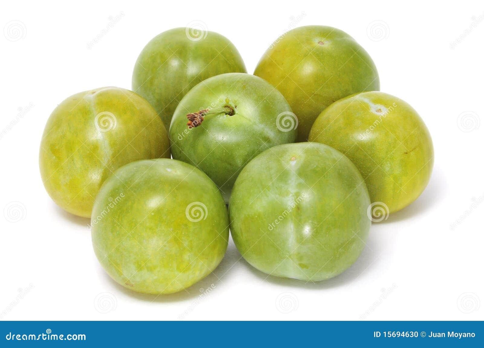 Gröna plommoner