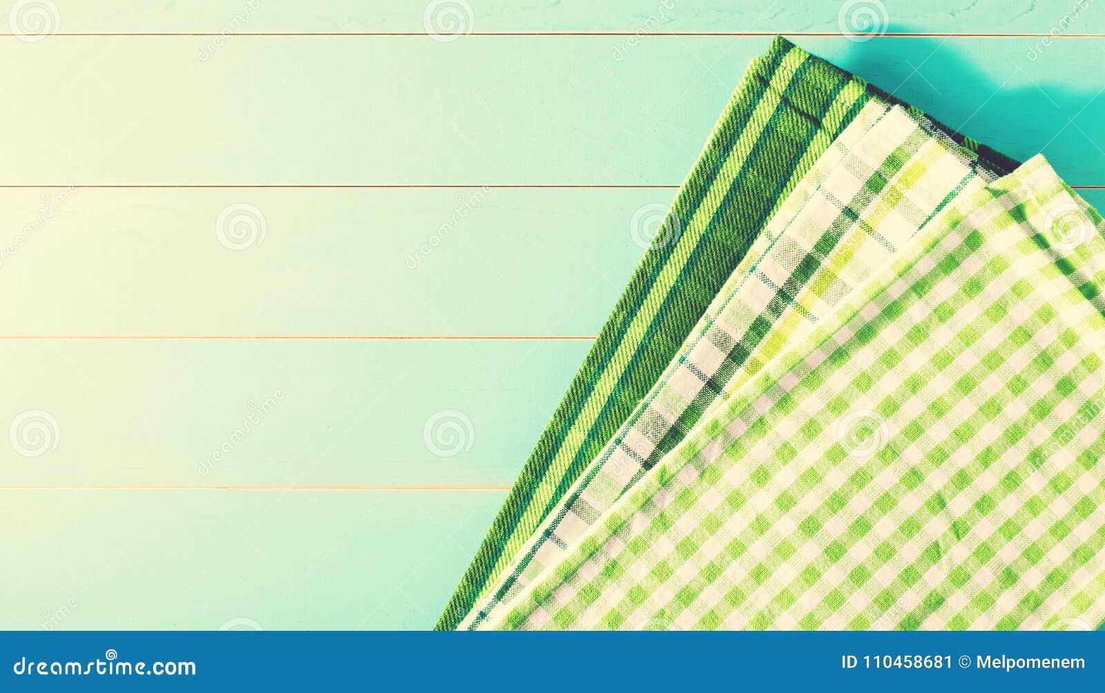 Gröna servetter för dag för St Patrick ` s