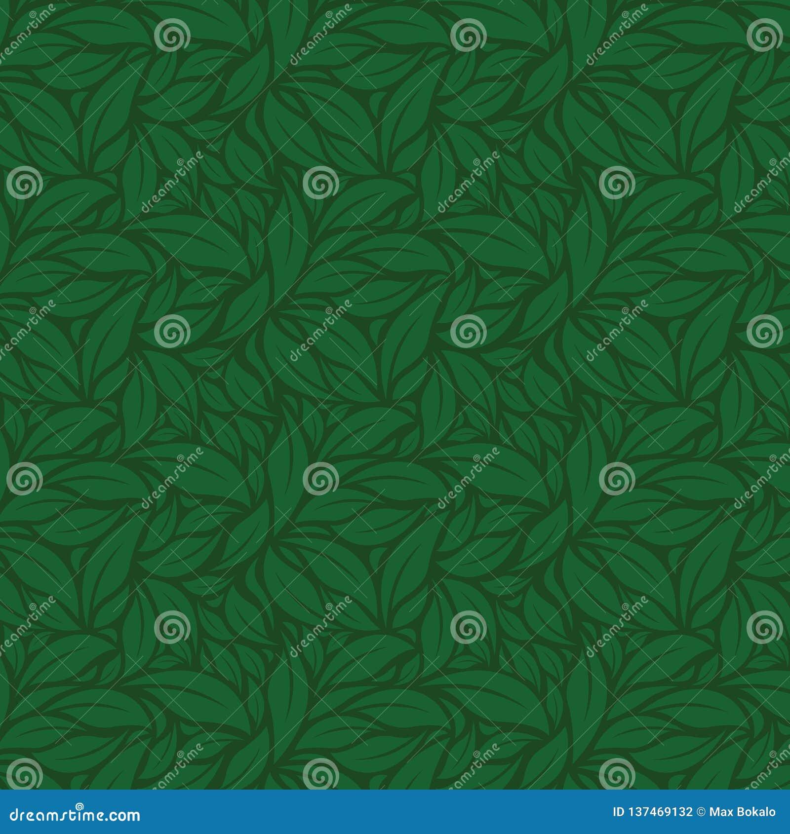 Gröna sommarLeaves vektorgräsplanmodell