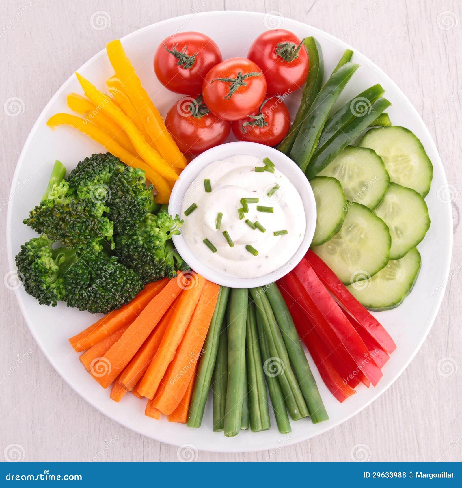 Grönsak och dopp