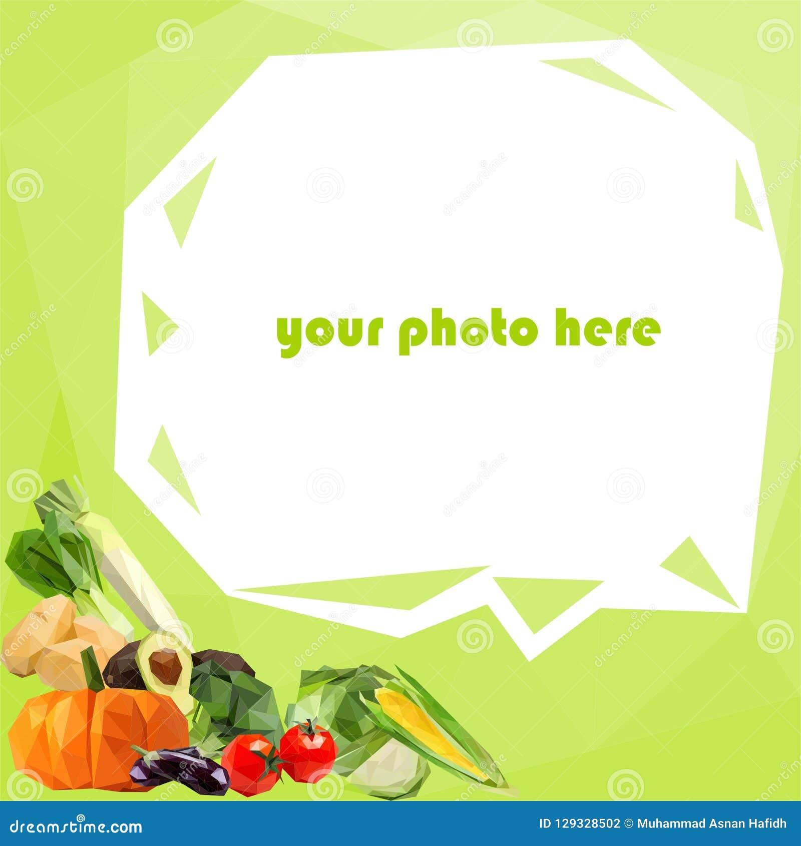 Grönsaker gränsar för social massmediaprofil
