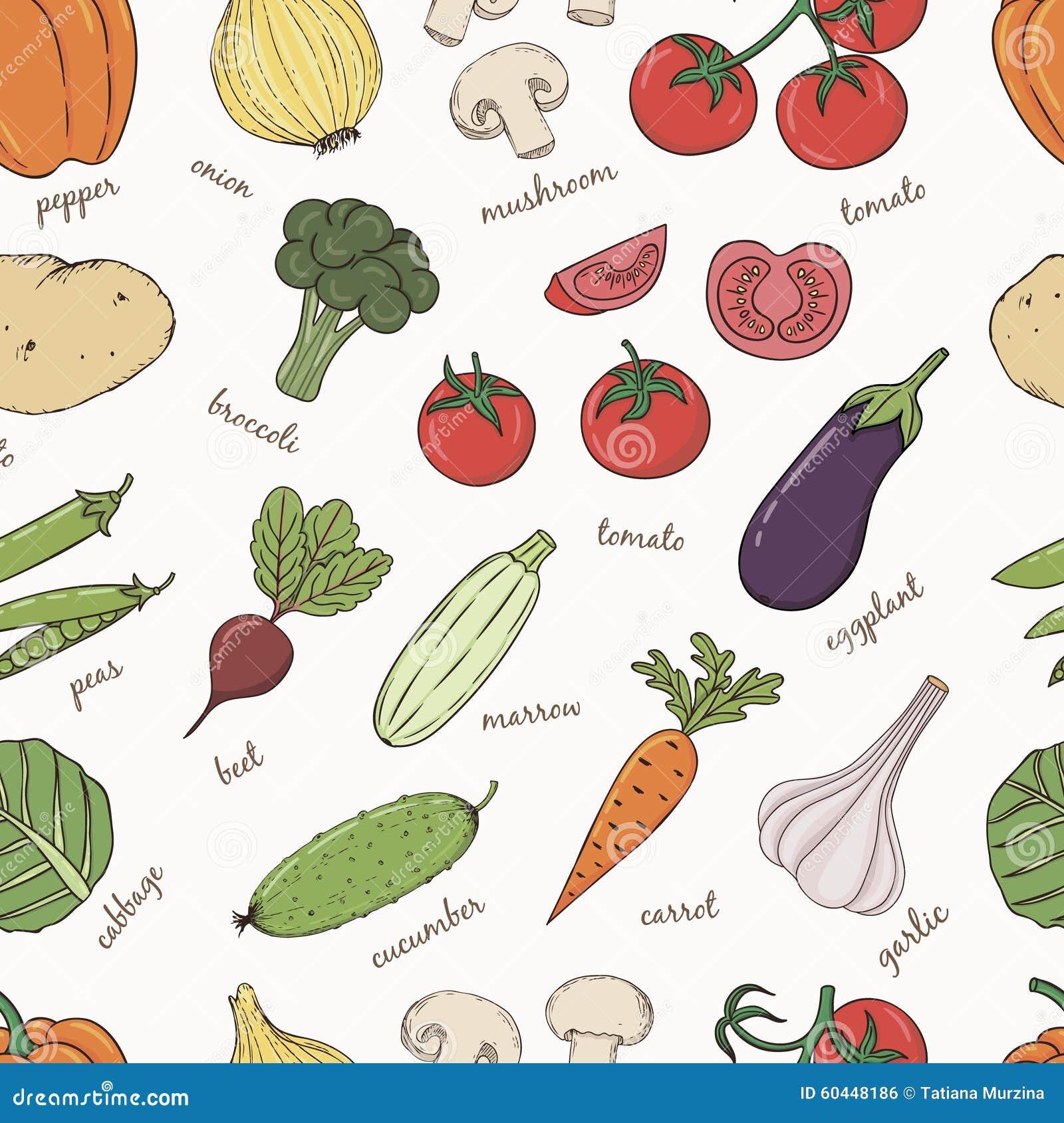 namn på alla grönsaker