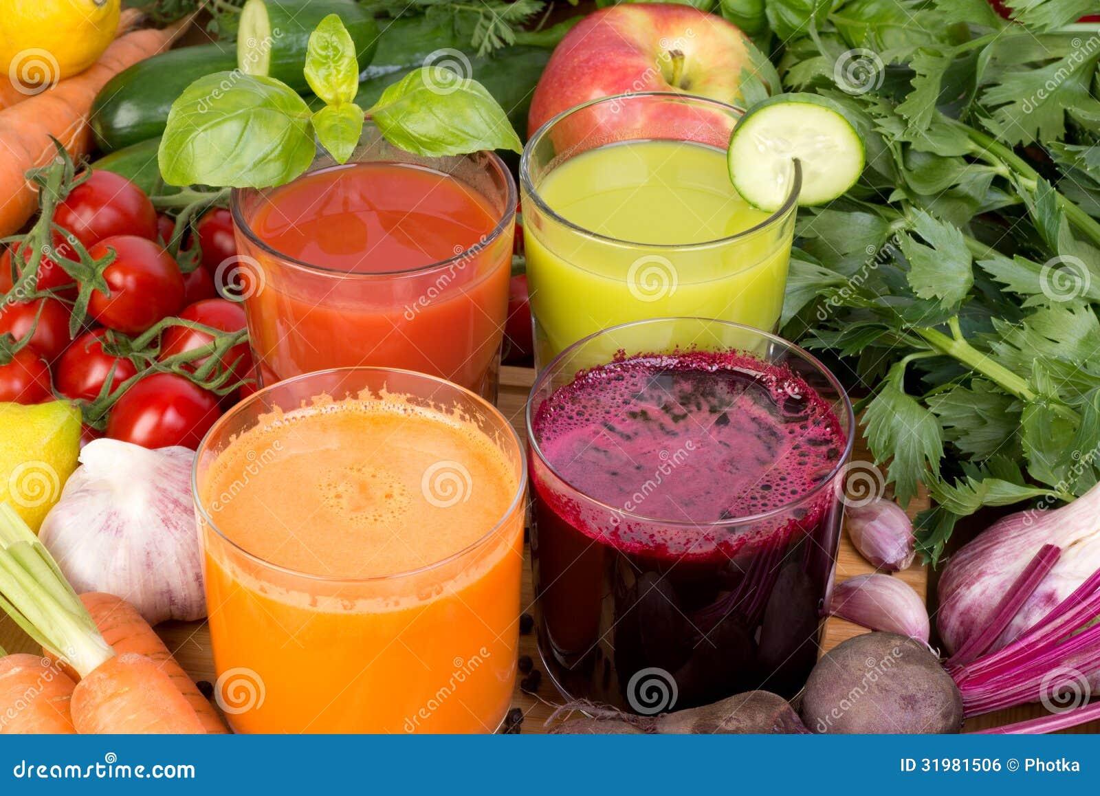 Grönsakfruktsaft