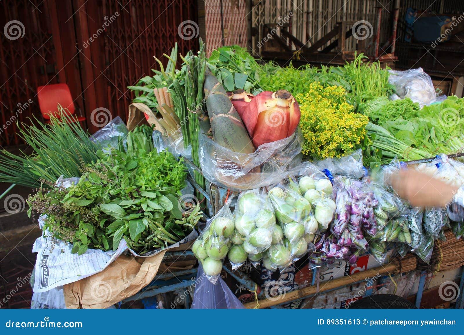 Grönsaklastbil